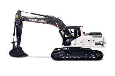 Hidromek HMK220LC Track Excavator
