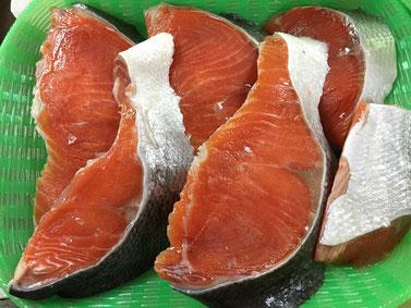 紅鮭切り身写真2