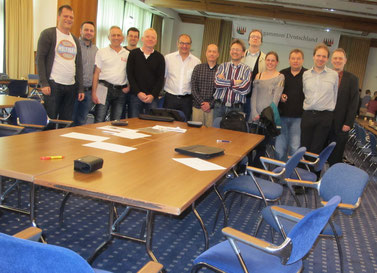 Gründungsmitglieder des Deutschen Backgammo-Verband