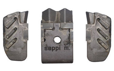 SUPER DUO EXTREME (L/R) und SUPER DUO PROTECT Werkzeugen für SEPPI M. MIDIPIERRE Steinbrecher
