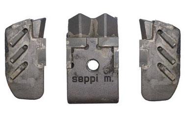 SUPER DUO EXTREME (L/R) und SUPER DUO PROTECT Werkzeugen für SEPPI M. MIDIPIERRE dt Steinbrecher
