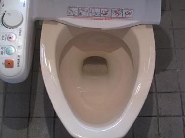 トイレクリーニング(黒ずみ、水垢)