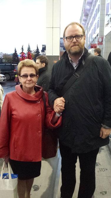 """Tatjana Kursina, die ehemalige Leiterin der Gedenkstätte """"Perm 36"""""""