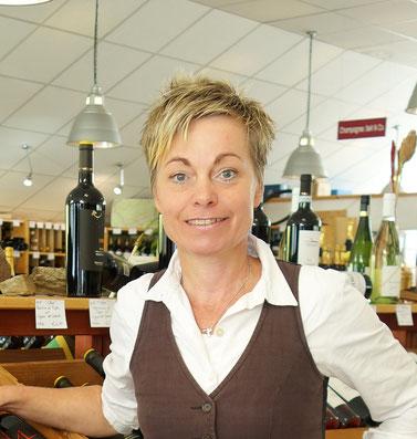 Barbara Rinnab, Geschäftsinhaberin Weinwerk Gießen