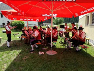 Konzert am Pfarrfest zu Fronleichnam 2017