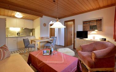 2 Raum Appartement, Kaiserblick