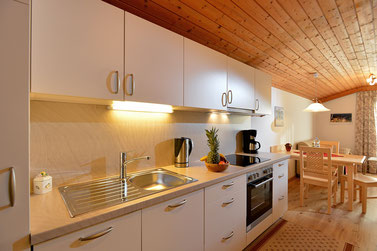 Schönes Appartement mit Küche, Wohnraum und Schlafzimmer