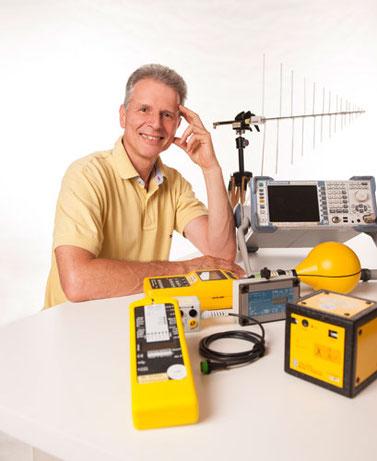 Eine Auswahl unserer Messgeräte für Nieder- und Hochfrequenz