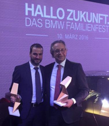 BMW Vogl Sales Award Jürgen Pöllner Sebastian Vogl