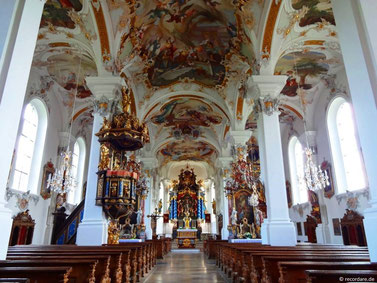Innenraum St. Michael, Violau