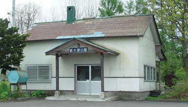 日本一早い最終列車が出る新十津川駅に鉄道ファンが集まる(画像提供:新十津川町)
