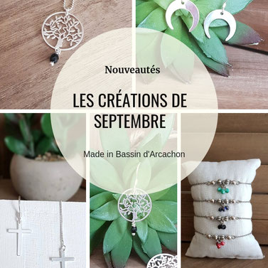 les nouveautés de septembre, nouvelle collection bijoux fait main article blog