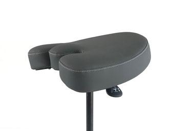 Le premier tabouret médical souple et dynamique grâce à la fléxibilité d'assise siege/selle