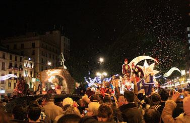 Horario y recorrido de la Cabalgata de Reyes de Málaga