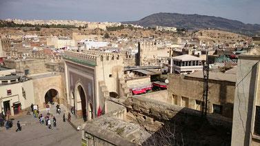 フェズ・旧市街の入り口です/モロッコ青い街シャウエン在住Mikaのブログ