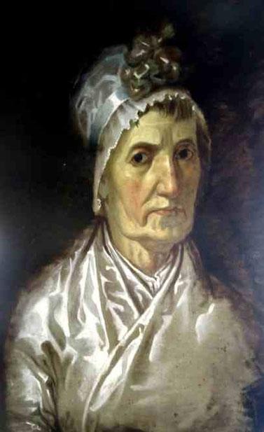Магдалена Доротея Рунге, мать художника Филиппа Отто Рунге. 1980