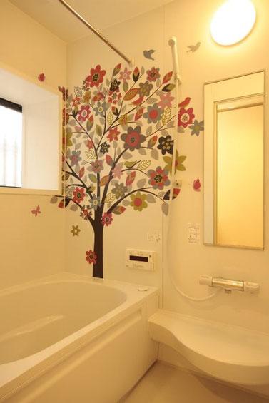 浴室のアレンジ