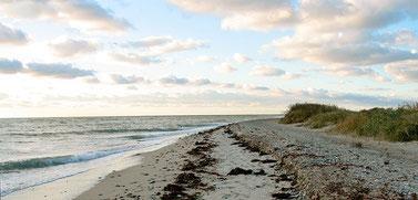 Strand bei Flügge, Fehmarn
