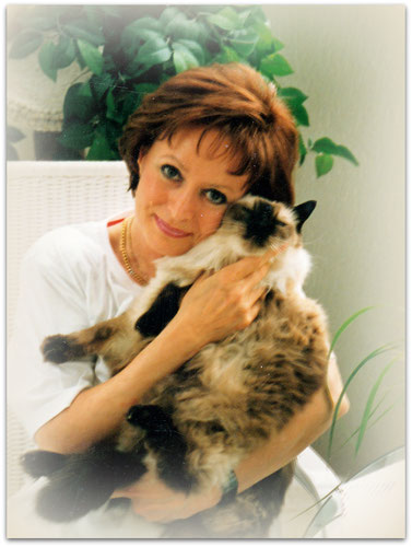 Birgitta Kuhlmey, 90er Jahre, Katze: Balinese seal point