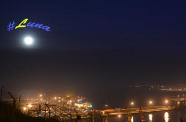 La #Luna, tan bonita y tan difícil de fotografiar
