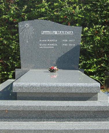 vault-granite-headstone-sundial-stone-thoronet-var-83-tombstone