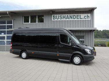 VIP-Bus Mercedes Sprinter 316 mit 9 Sitzplätzen