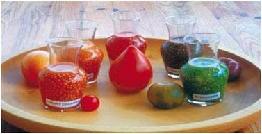 Rouge,jaune,verte ou bigaree, chaque semence est une couleur a preserve