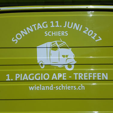 1. Ape Treffen in Schiers/GR