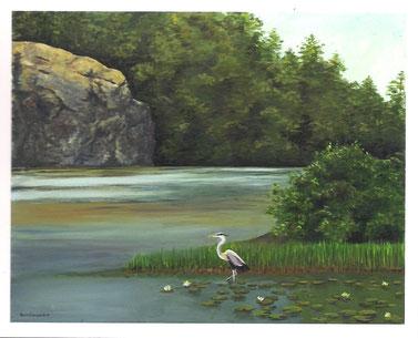 """""""Summer on Moeckel Pond"""""""