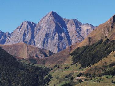 Le Mont Valier vu de Rouze