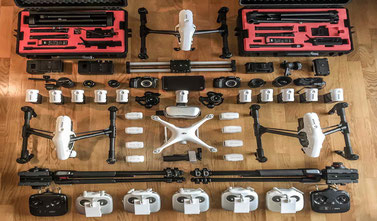 Equipment, Drohnenequipment, DJI, Inspire, Transportbox