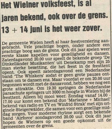 de Toren, 10. Juni 1987