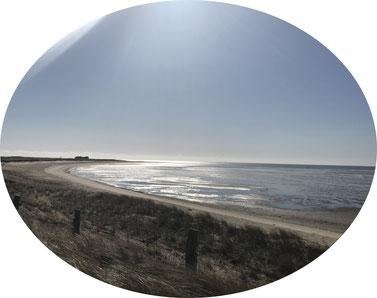 Strand in Sylt. Perfekte Location für eine freie Trauung auf Sylt.
