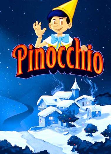 Pinocchio au Théatre de Paris pour spectacle de Noël