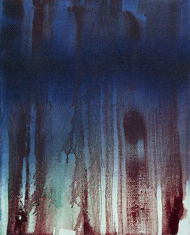 o.T., 2017, Öl auf Leinwand, 30x24 cm