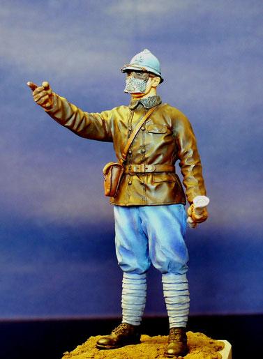 Chef de char Français 14/18 120mm Takom