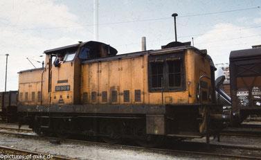 1992 auf den Pirnaer Rangierbahnhof