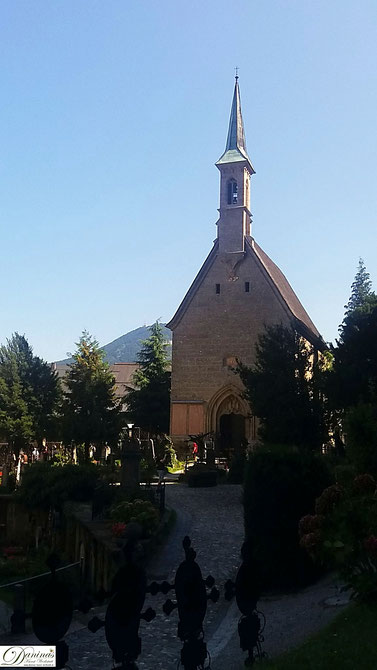 Salzburg - Margarethenkapelle am Friedhof St. Peter