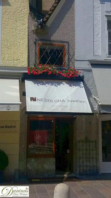 Kleinstes Altstadthaus in Salzburg am Alten Markt