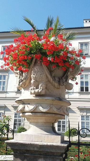 Salzburg frühbarocke Elemente im Mirabellgarten