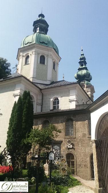 St. Peter, das älteste Stift mit Kirche und Kloster in Salzburg