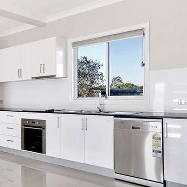 Newly installed kitchen in Sydney