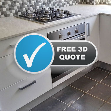 Free Kitchen or Bathroom 3D Design and Quote
