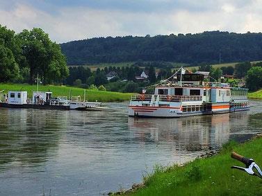 So schön ist es an der Weser (Foto Hannah Beste)