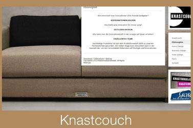 Webseite Knastcouch