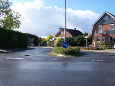 Gefahrenpunkt 7: Kreuzungen im Bereich Flethstraße / Flethweg / Mühlenweg