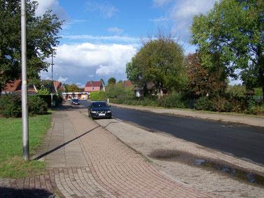 Gefahrenpunkt 6: Straßeneinmündung Flethweg / Friedrich-Meyer-Weg