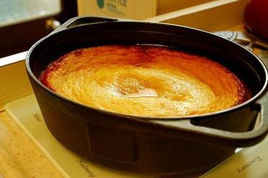 BBQ 焼きプリン ダッチオーブン