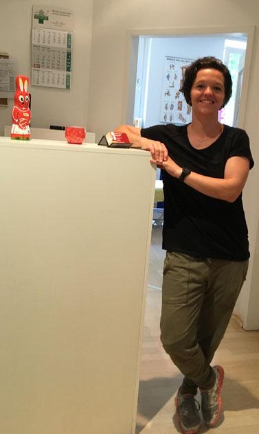 Antje Sawallisch: Physiotherapeutin