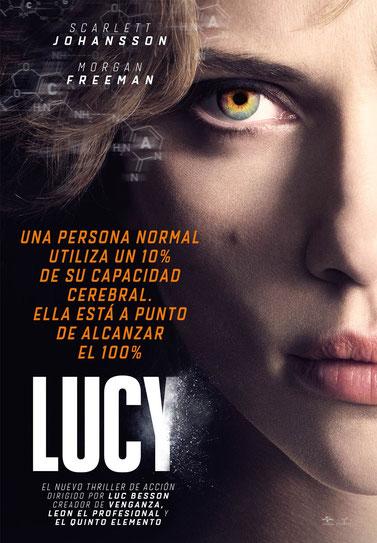Cartel oficial de 'Lucy'.